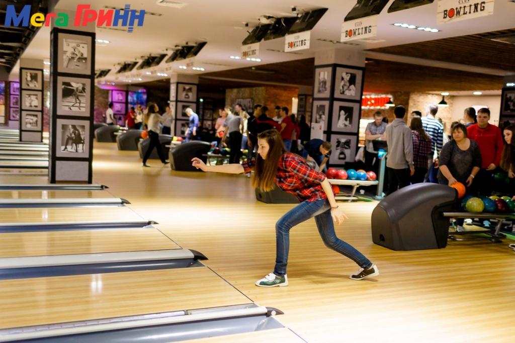 Соревнования по боулингу среди студентов курских университетов